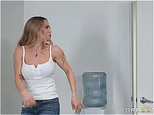 rough oral interrogation with Nicole Aniston