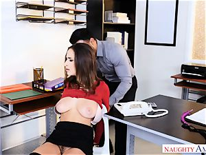 Ashley Adams found trussed up well-prepped for a ravaging
