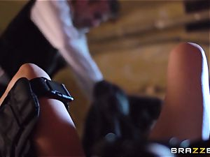 Madison Ivy is speared by a massive cock