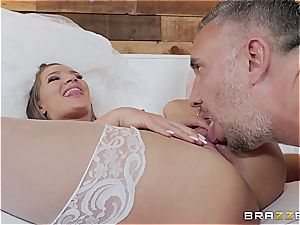 hot bride needs a giant man sausage in the ass