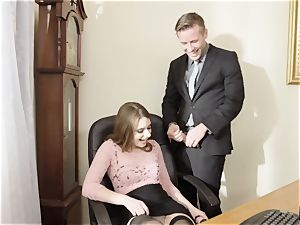 new office assistant Alice March aims to sate her boss