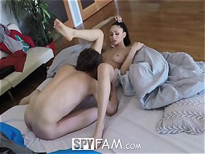 SpyFam Step sister Ariana Marie drills step brutha