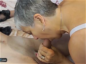 AgedLovE crazy grandmas hard-core intercourse Compilation