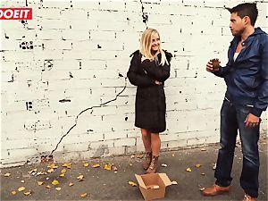 LETSDOEIT - Spanish couple entices and screws a Stranger