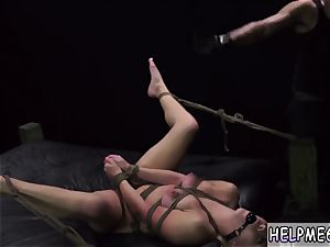 corded domination nubile Mia bean was on her way to get some tacos, takes a wrong turn and