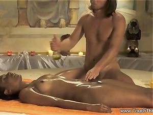 intimate relieving rubdown For nymph
