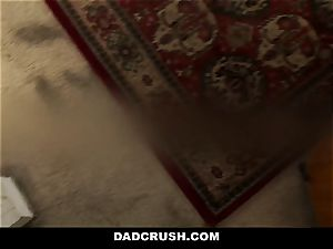 DadCrush - super hot Step-Daughter smacked