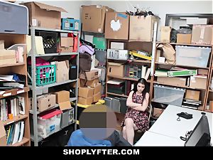 Shoplyfter - A firm pummel punishment For Rebelious teenage