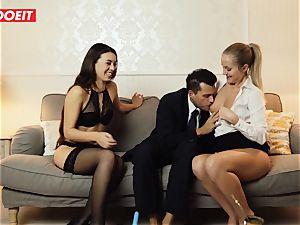 LETSDOEIT - nasty wifey Gets ravaged hard-core By Swingers