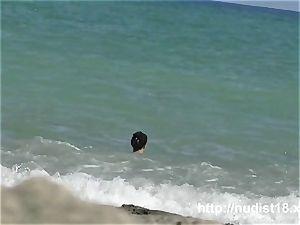naturist beach vid sexy taut breezies
