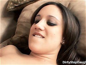 Stepdaughter Lynn love seduces parent Ron Jeremy To boink