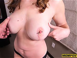 super-cute huge bumpers inexperienced wifey humped pov