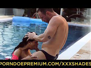 xxx SHADES buxom latina babe fucked by the pool