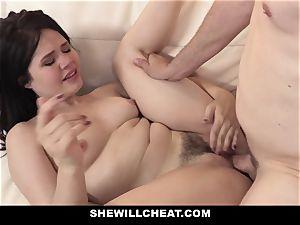 SheWillCheat - chinese wifey romped By ravage friend