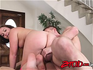 Maddy O'Reilly spread and drilled