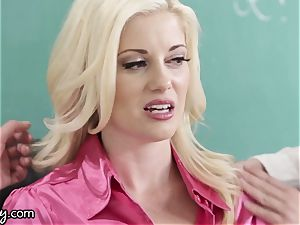 Girlsway naughty lezzie schoolgirls Manipulate tutor