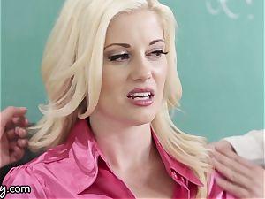 Girlsway naughty lezzie schoolgirls Manipulate tutor