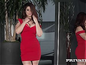 Private.com - huge-titted Lucia love Is Not Afraid Of atm