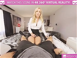 VRBangers.com-MILF is wedging a hitachi in her puss