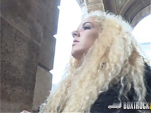 incredible Monique forest enjoys harsh lovemaking in Public