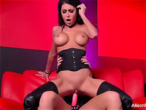 Alison Tyler romps Jessica Jaymes with a strap-on