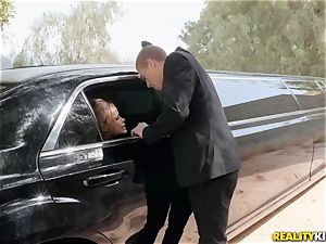 Jessa Rhodes screwed in the limo